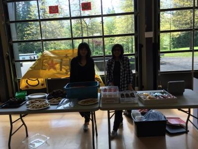 Youth for CARE FH Bake Sale 1