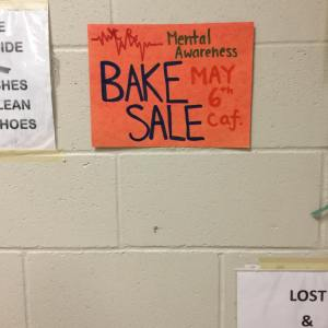 Youth for CARE FH Bake Sale 2